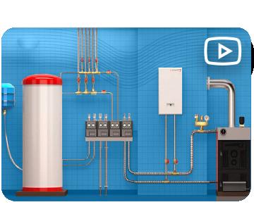 Монтаж систем отопления в Нижнем Новгороде